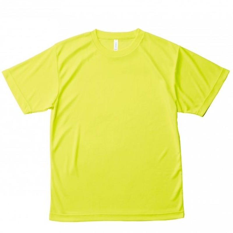【Natural Smile】LIGHT DRY T-SHIRT(Fluorescent Yellow)/ライトドライ Tシャツ(蛍光イエロー)