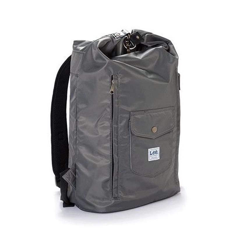 【Lee】BACKPACK(Gray)/リュックサック(グレー)