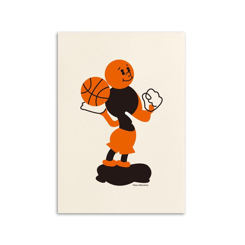 松原 光 / Basketball / A3 ポスター