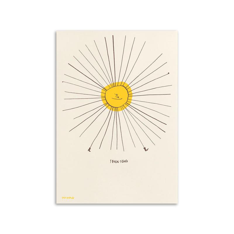 Luis Mendo / Hoy sol y buen tiempo / A3 ポスター