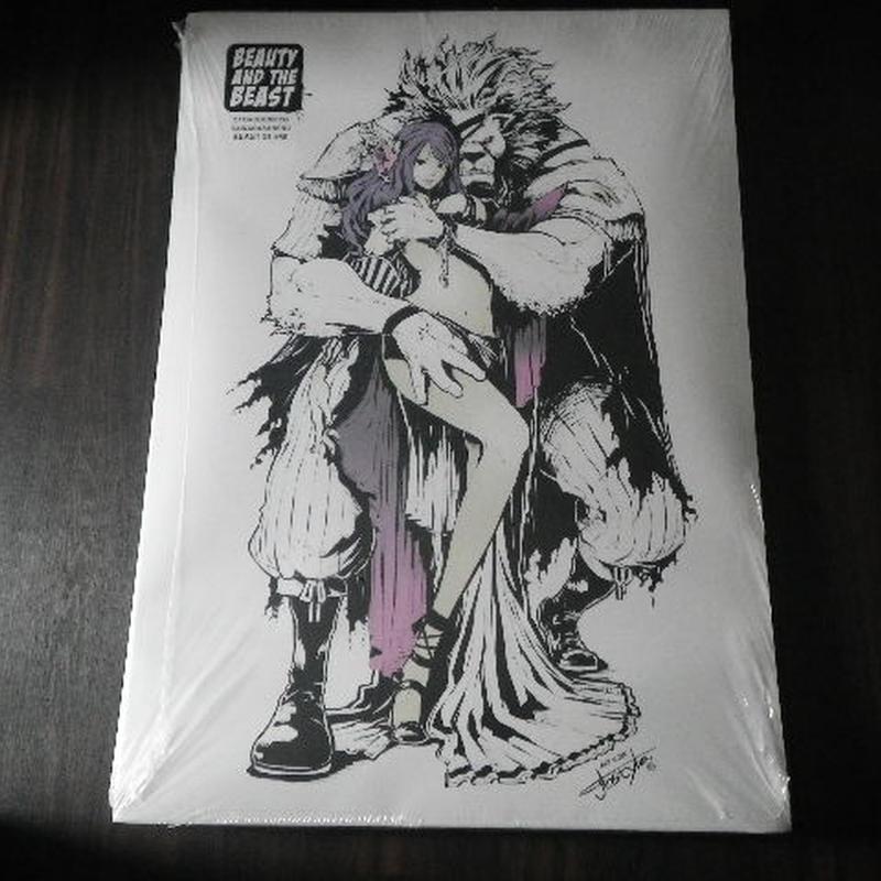 【A1ポスター】 jbsytleイラスト 『美女と野獣』