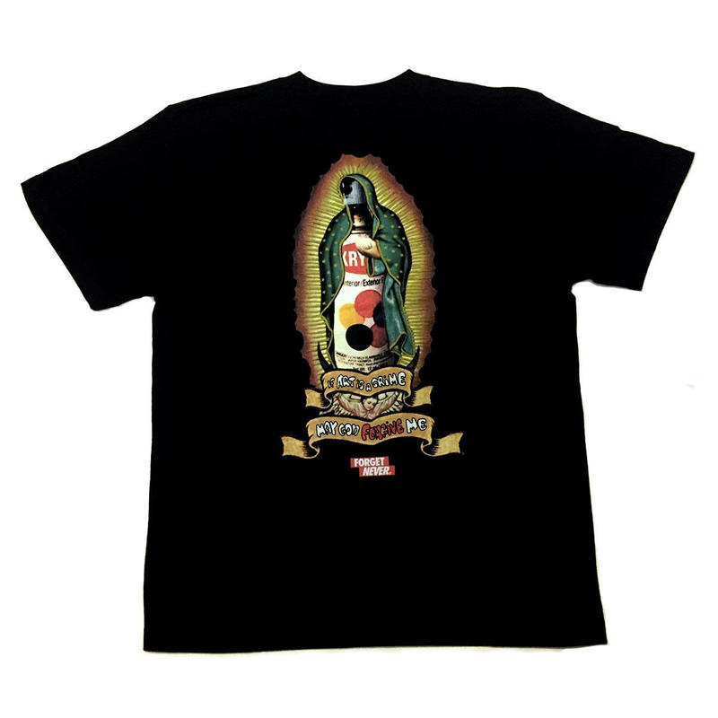 GOD FORGIVE ME T-SHIRTS 【BLACK】