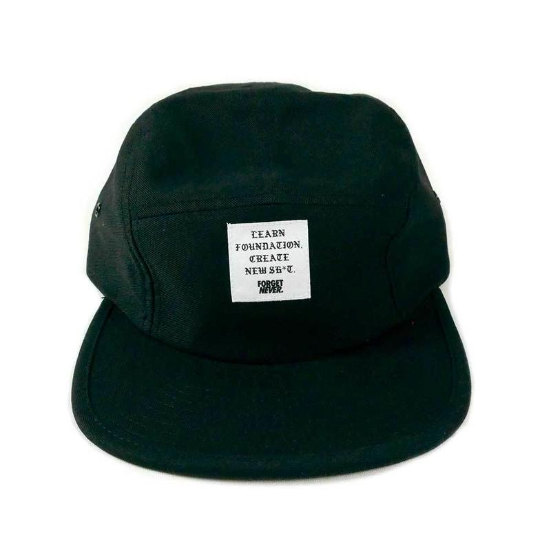 Patch Logo 5 panel (Black )