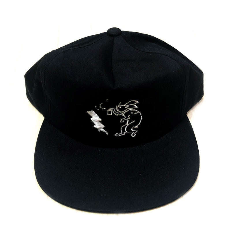 ANIMAL CYPHER - 5PANEL BALL CAP 【BLACK/WHITE】