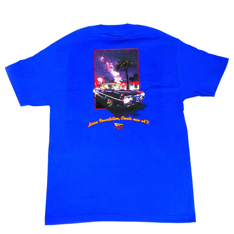 """Still N' Out"" Short Sleeve Tee ( Royal )"