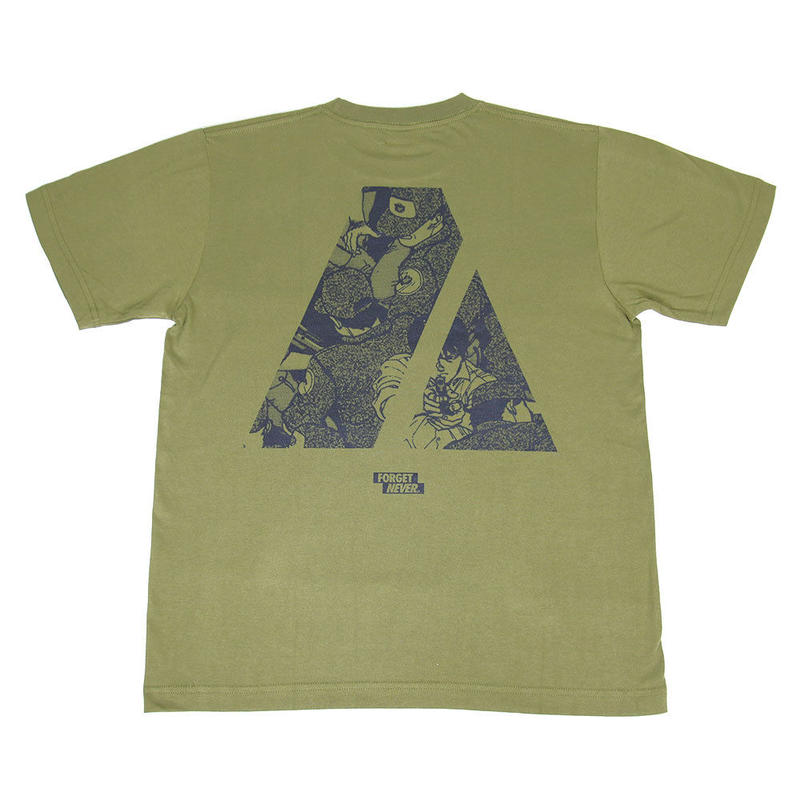 """ARMY"" S/S T-Shirt ( Army Green / Black )"
