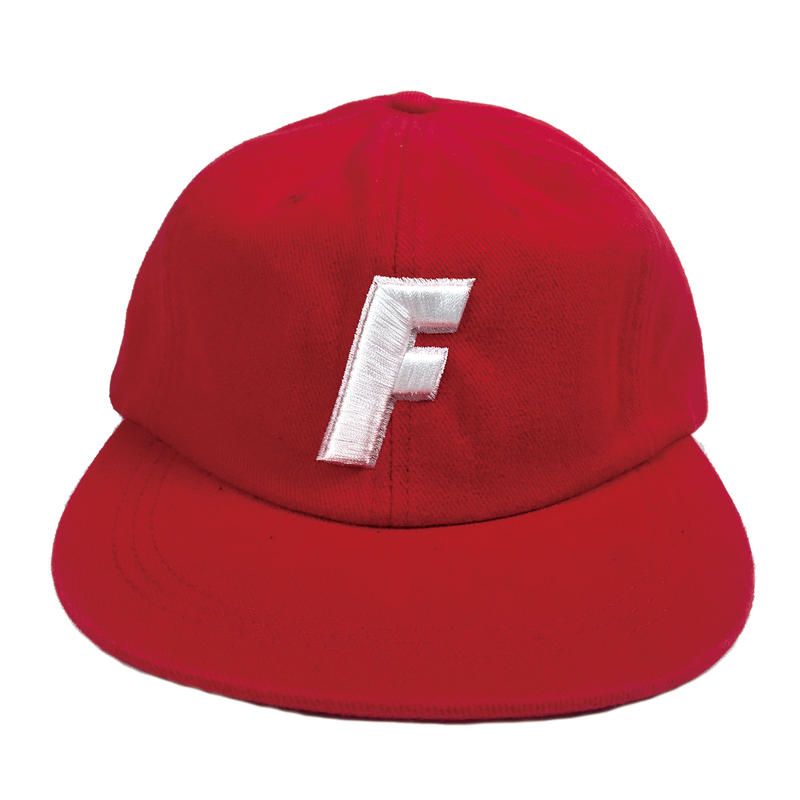 """F"" Logo Ball Cap ( Red )"