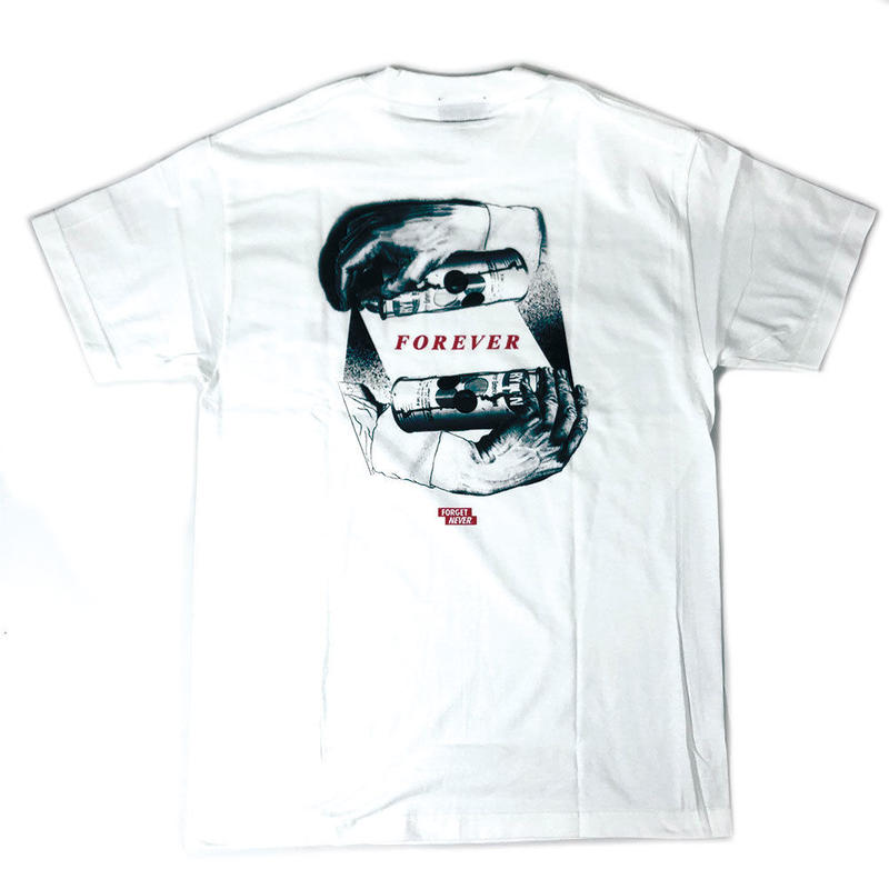 """""""FOREVER"""" - Short Sleeve T-Shirt ( White )"""