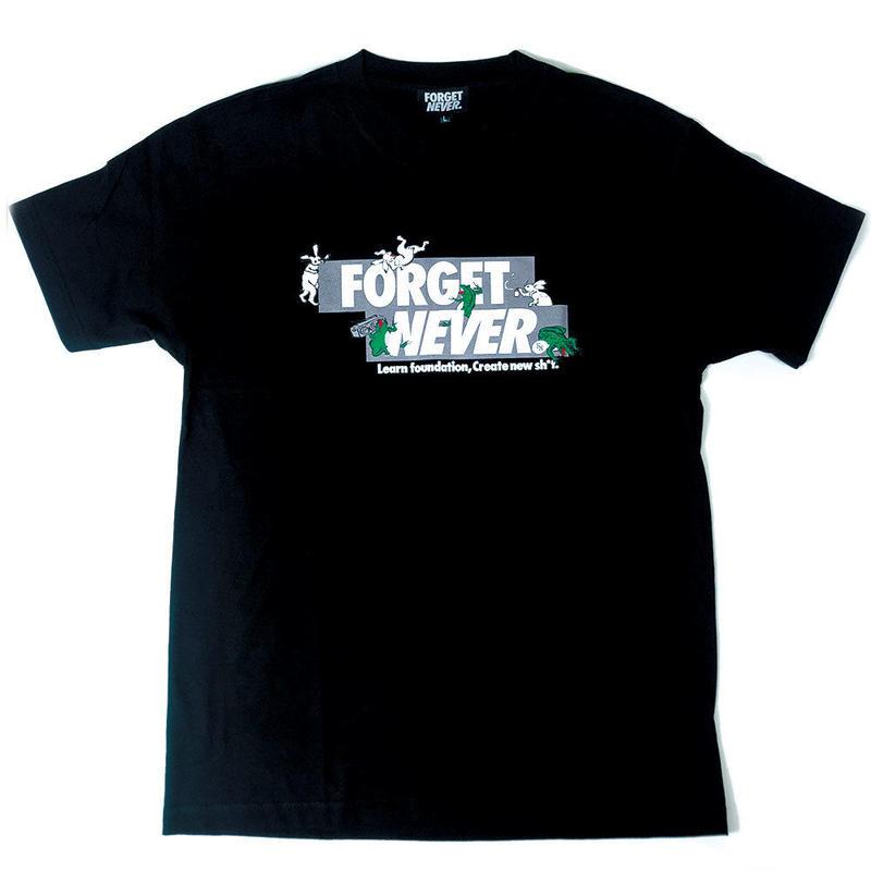 Animal Cypher Box - Short Sleeve T-Shirt ( Black )