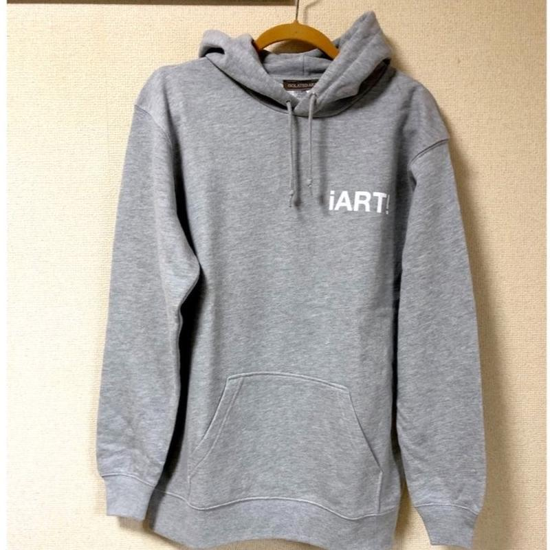 "iSOLATED ARTS""ART""Hoodie (Gray) - General Price"