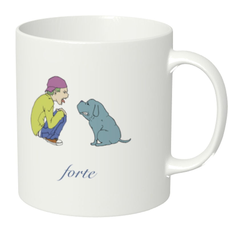 "forte Mug Vol.2""Vs Dog"""