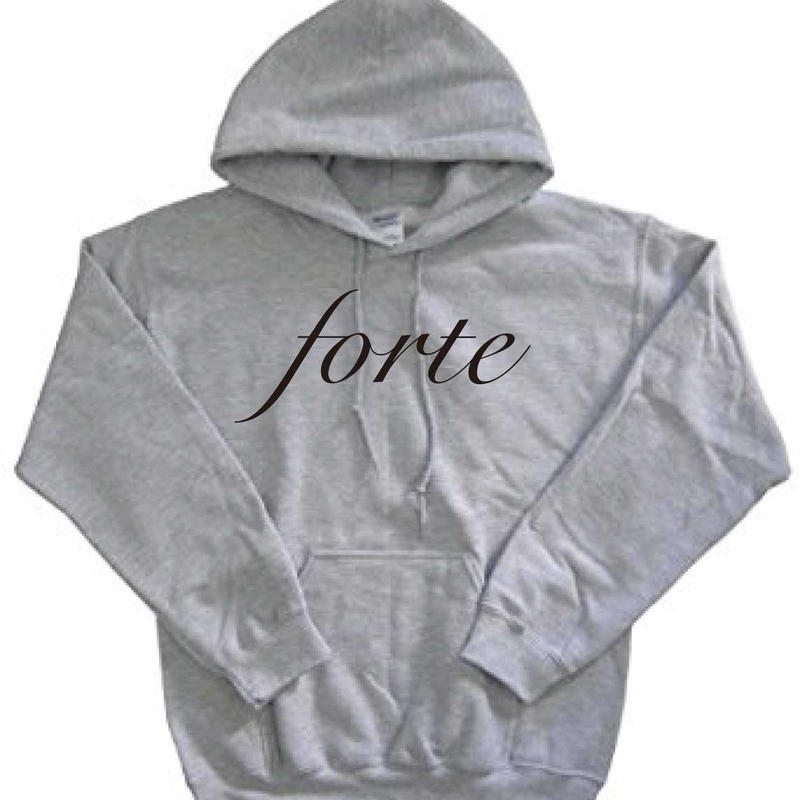 forte Original Big Logo Pull Over(GRY / BLK)-General Price