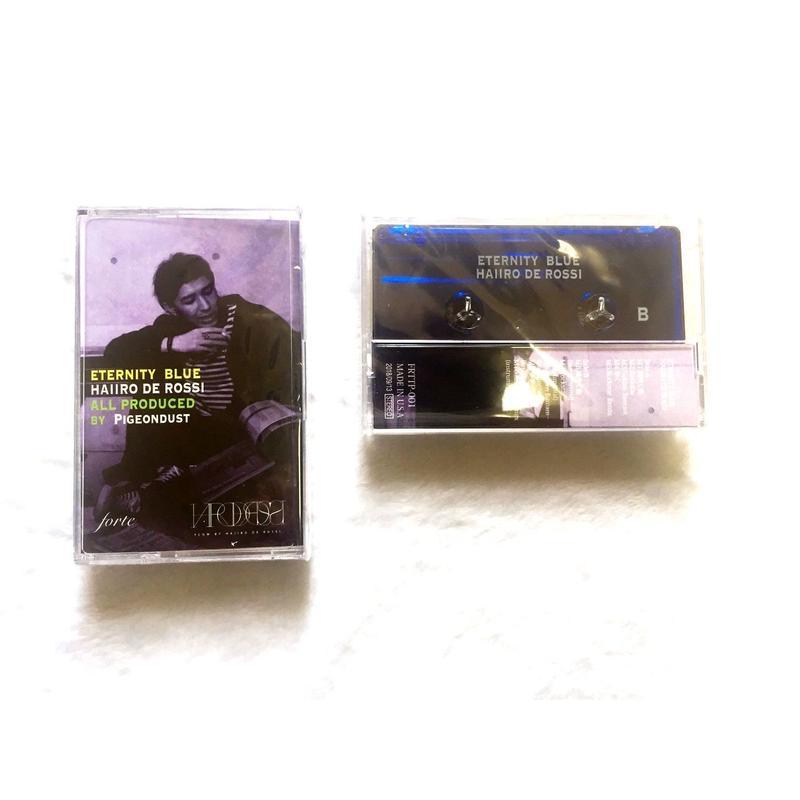 9/13発売HAIIRO DE ROSSI / ETERNITY BLUE (CASSETTE TAPE)