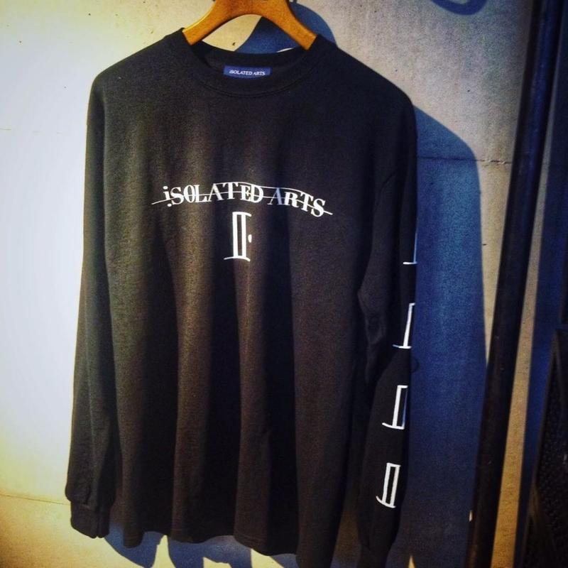 "iSOLATED ARTS""SHADOW""L/S T-shirts - General Price"