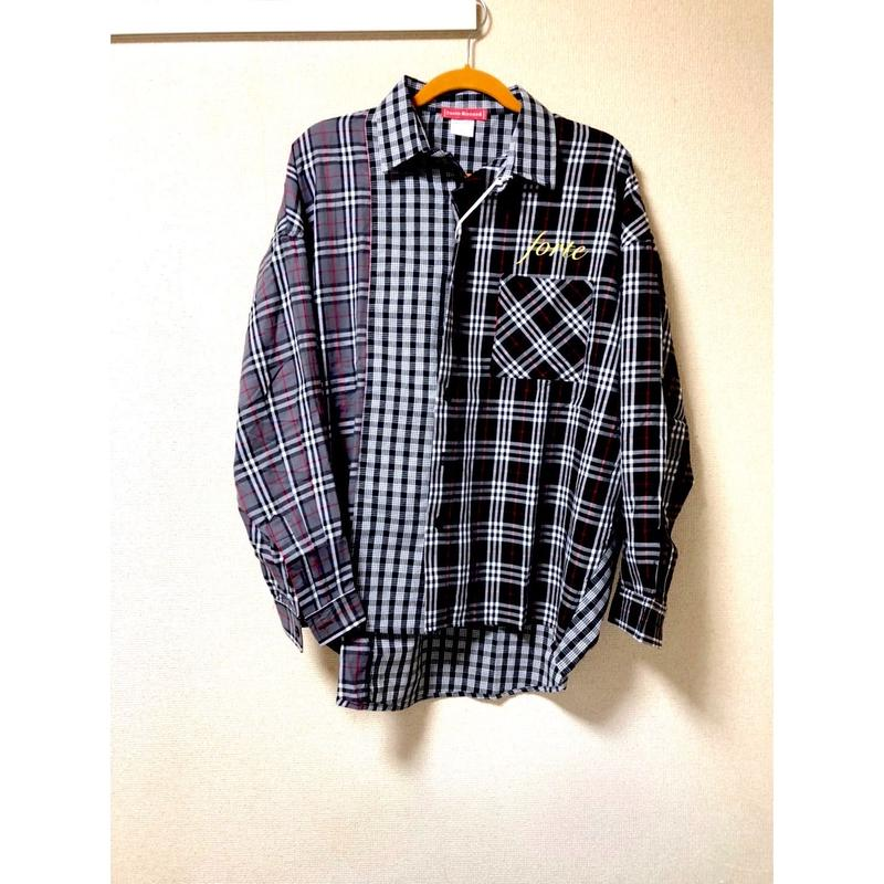 "《限定生産》forte""ETRENITY BLUE"" Limited Design Check Shirts"