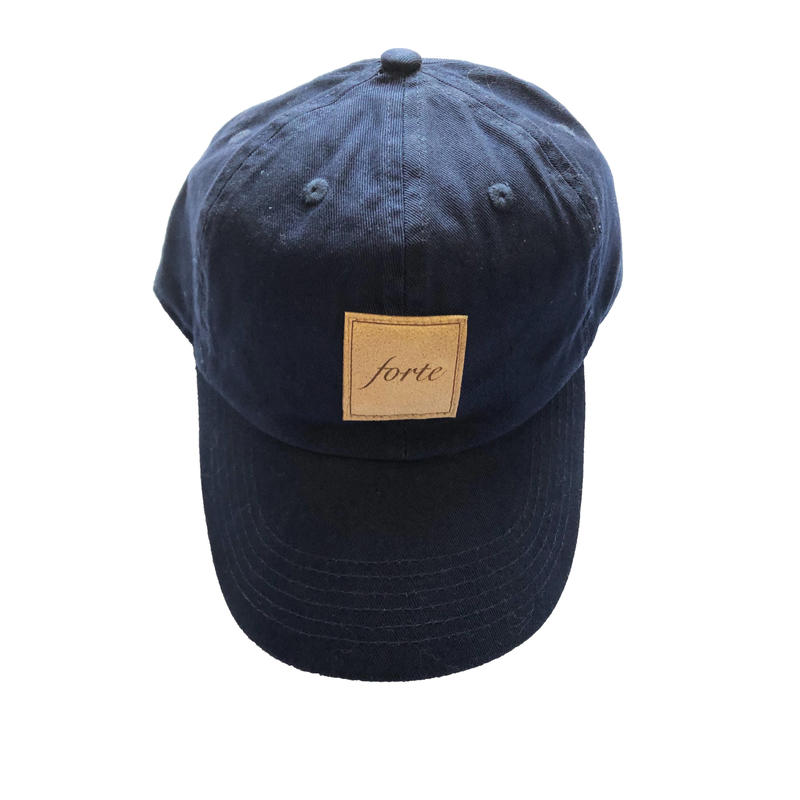 19 Summer forte Official Suède Tag Cap(Navy)