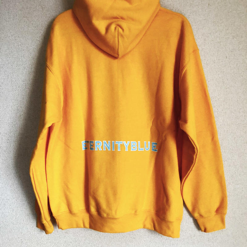 "18FW forte""ETERNITY BLUE""Hoodie (Yellow)"