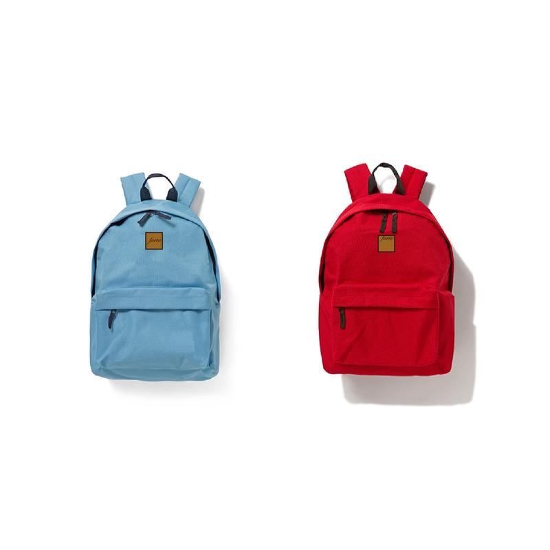 forte Official Backpack(Red / Sky Blue)