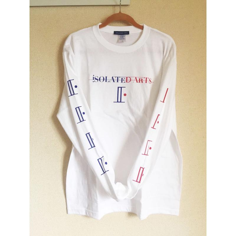 《World Series Vol.2》iSOLATED ARTS Tricolore L/S T-shirts《French》-White - General Price