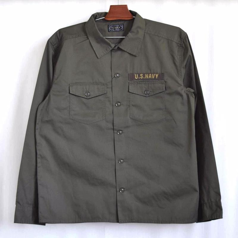 U.S Military Shirts Jacket(Khaki/Navy)