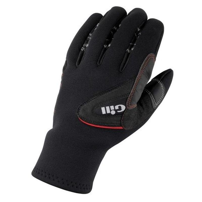 7773 Three Seasons Gloves Black/Grey_L