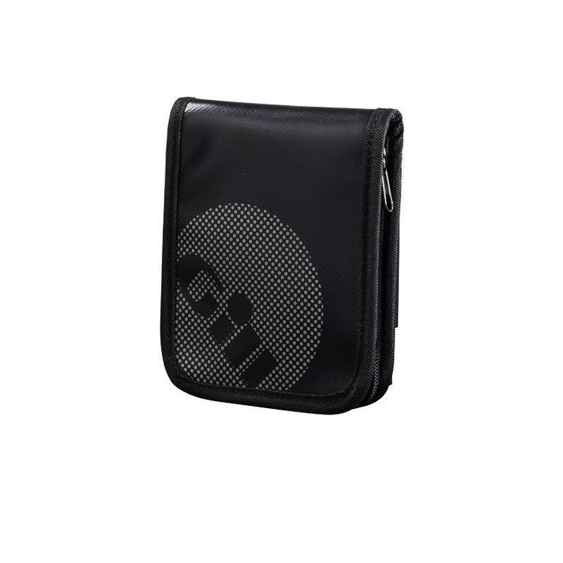 L065_Zip Up Wallet Jet Black