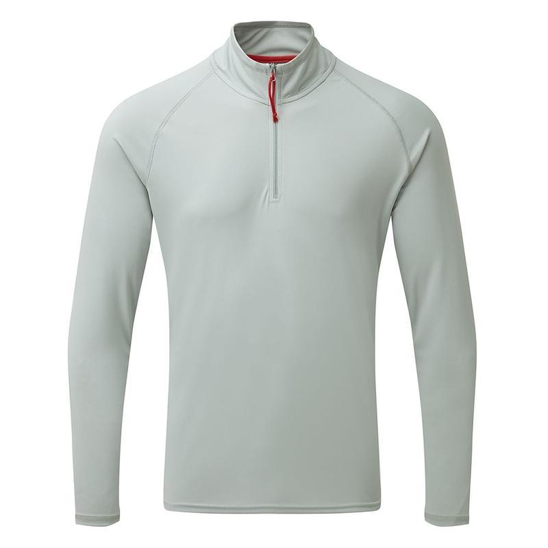 UV009 Men's UV Tech Long Sleeve Zip