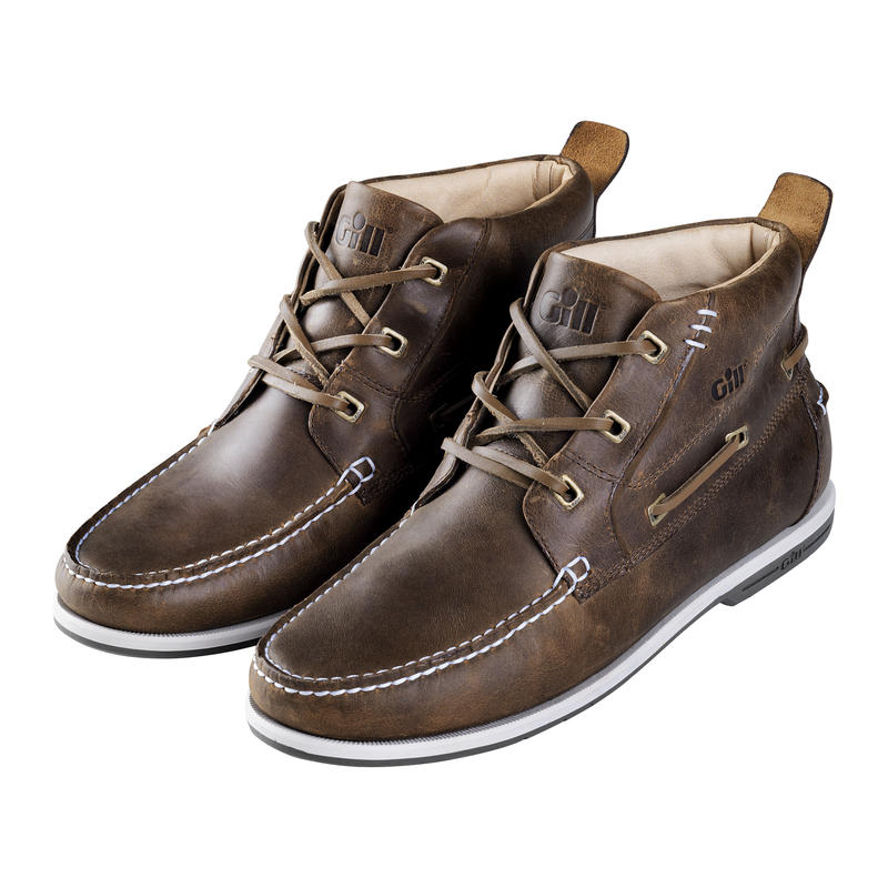 930 Aukland 3 Eye Deck Boots Brown(26.5cm)