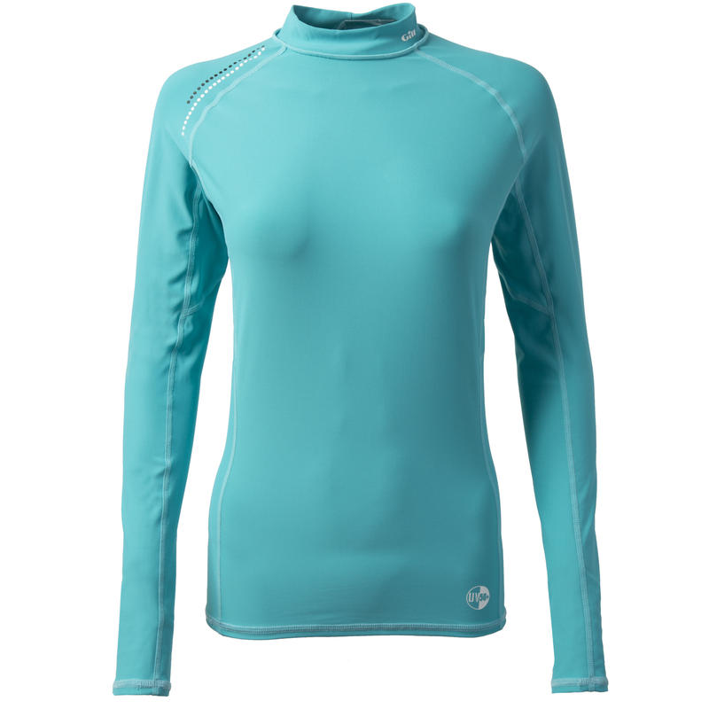4430W_Women's Pro Rash Vest - Long Sleeve
