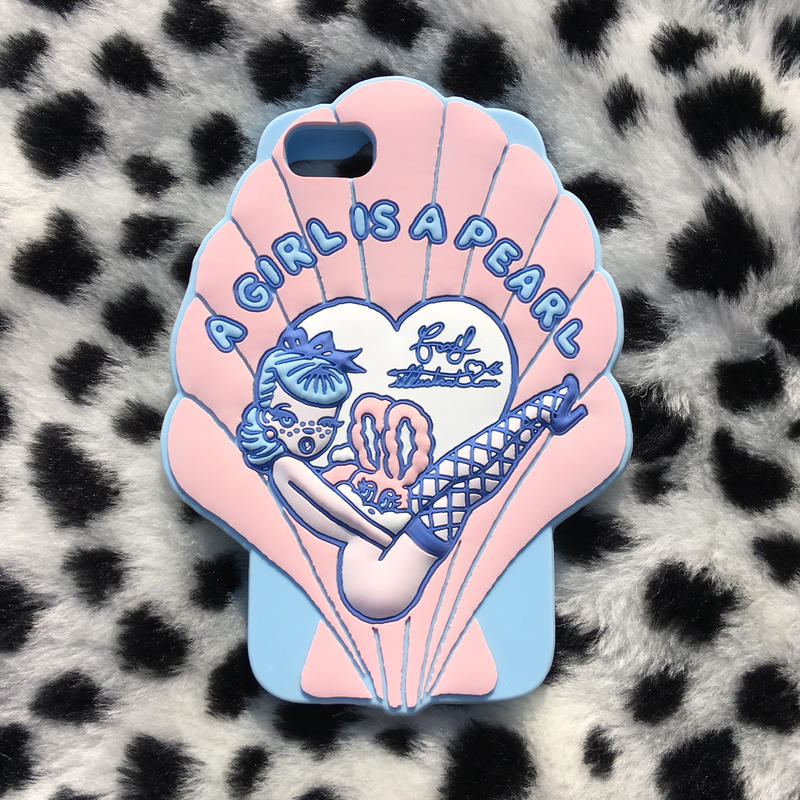 'A GIRL IS A PEARL'  iPhone6/6s/7 専用ケース
