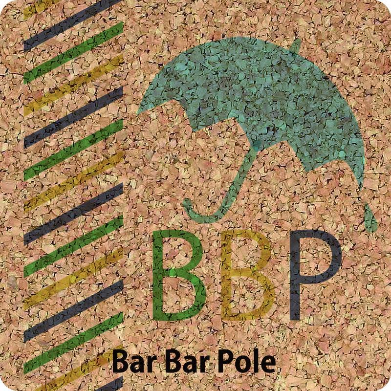 Bar Bar Poleコルクコースター(訳ありver.)