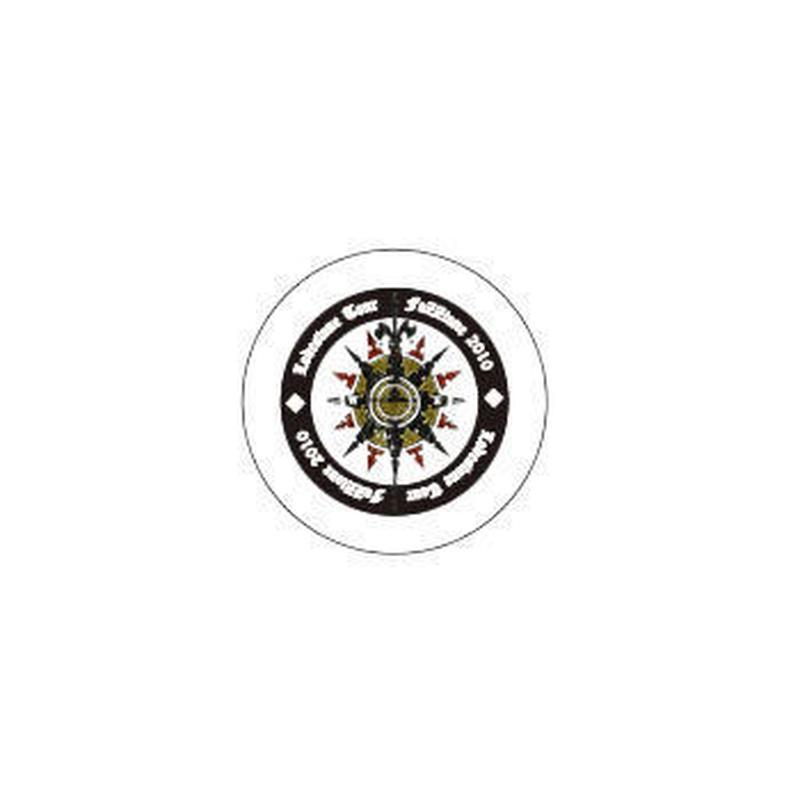 ワッペン(小)羅針盤