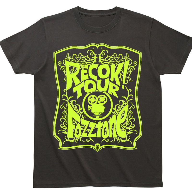 REC OK! Tシャツ 黒