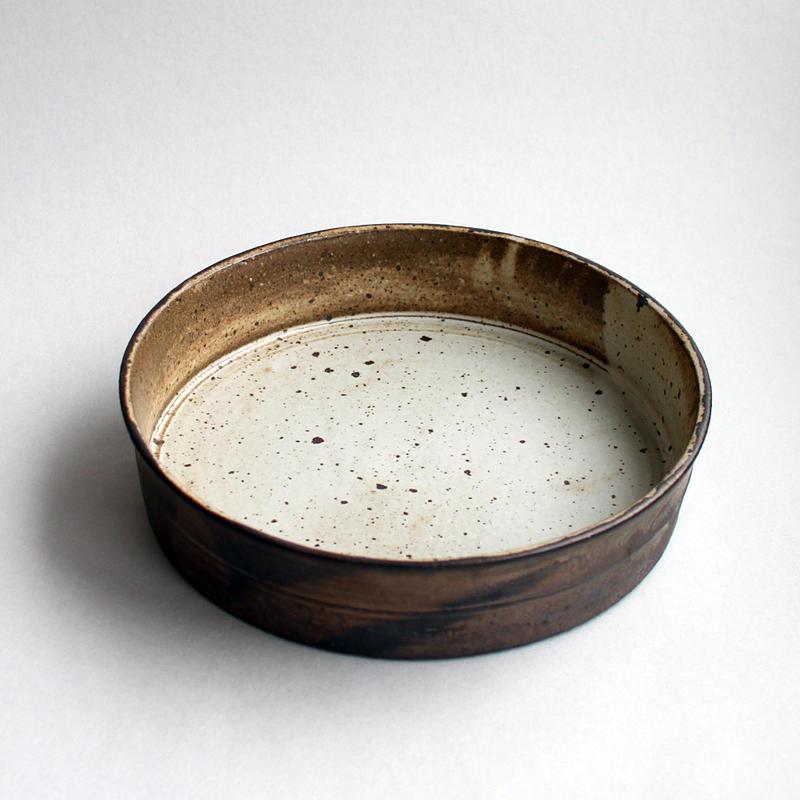 関太一郎 ドラ鉢 ブロンズ白マット(2)