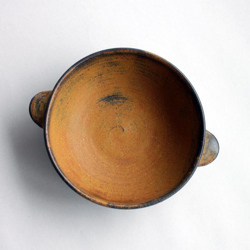 中尾雅昭:耐熱ボウル 茶