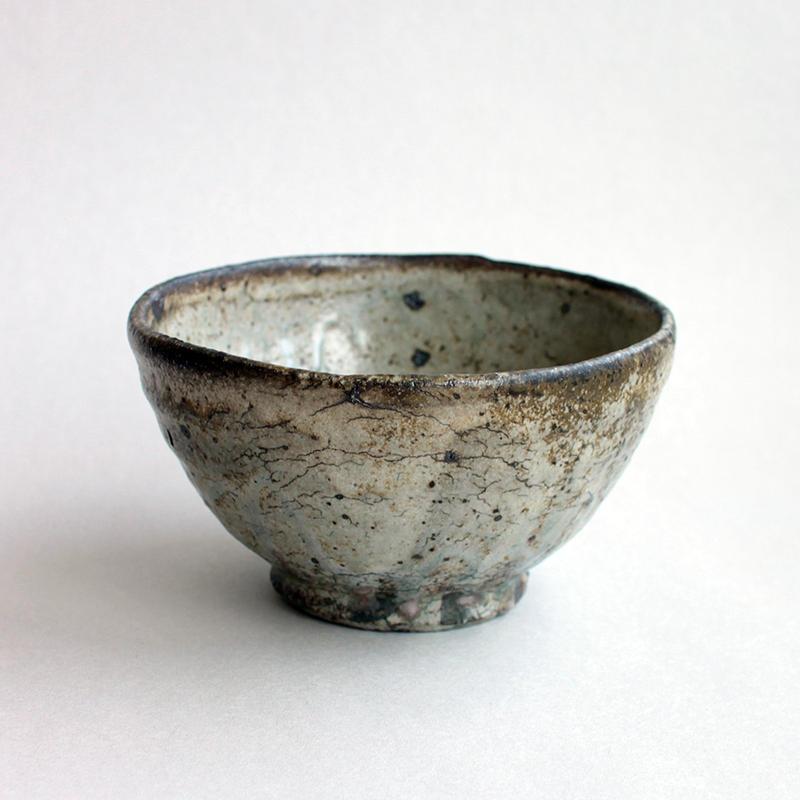 芳賀龍一:粉引茶碗