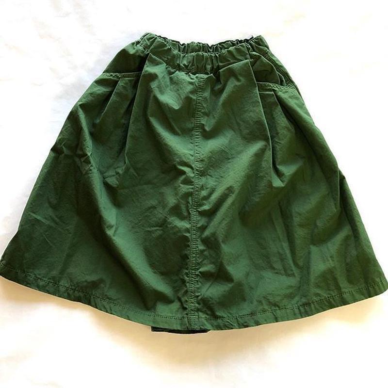 マインハイム スカートパンツ オリーブ 110~130cm
