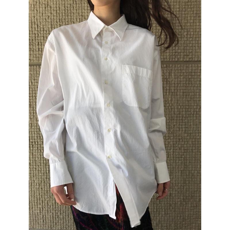 """GIORGIO ARMANI"" オーバーサイズコットンシャツ"
