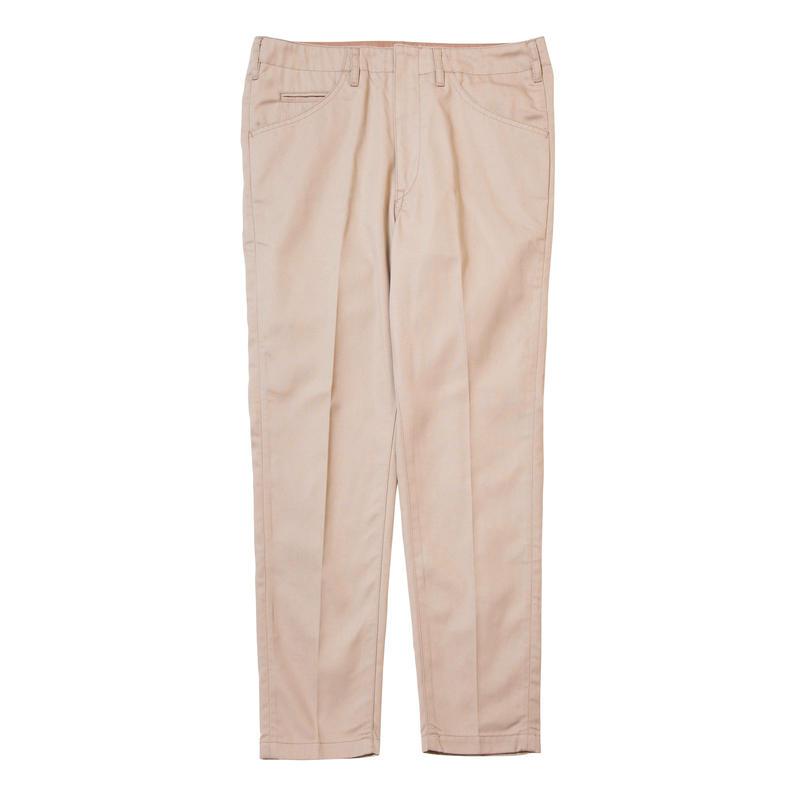 【bukht】2019 S/S SLIM TAPERED PANTS -KATSURAGI FAB-