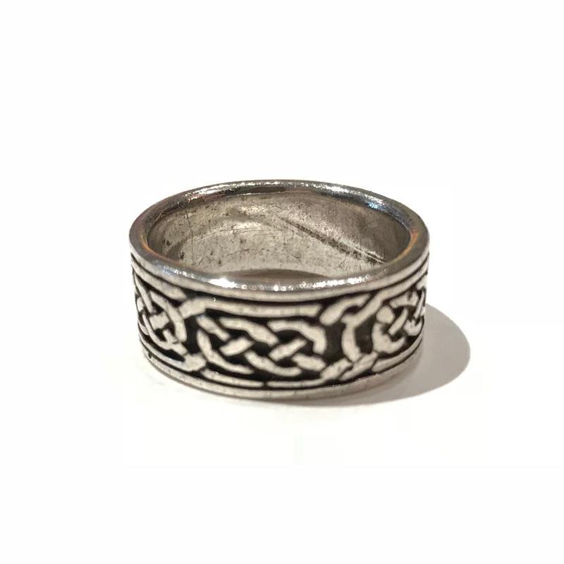 vintage silver ring 13号 925表記
