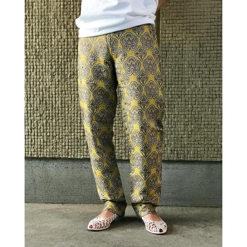 【レディース】 ヴィンテージ刺繍パンツ