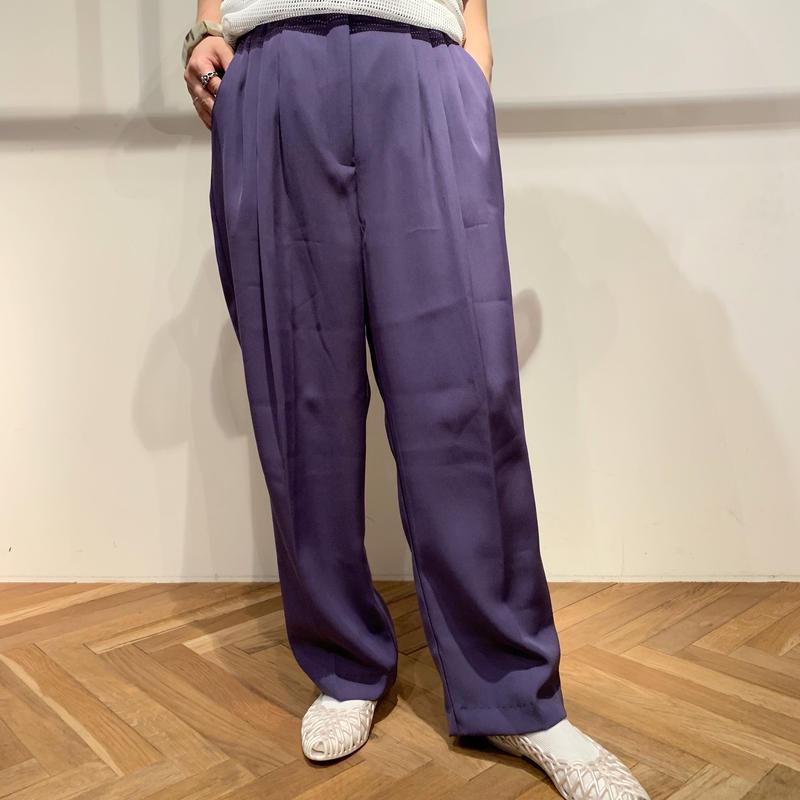 【レディース】90年代 ポリ3タックスラックス