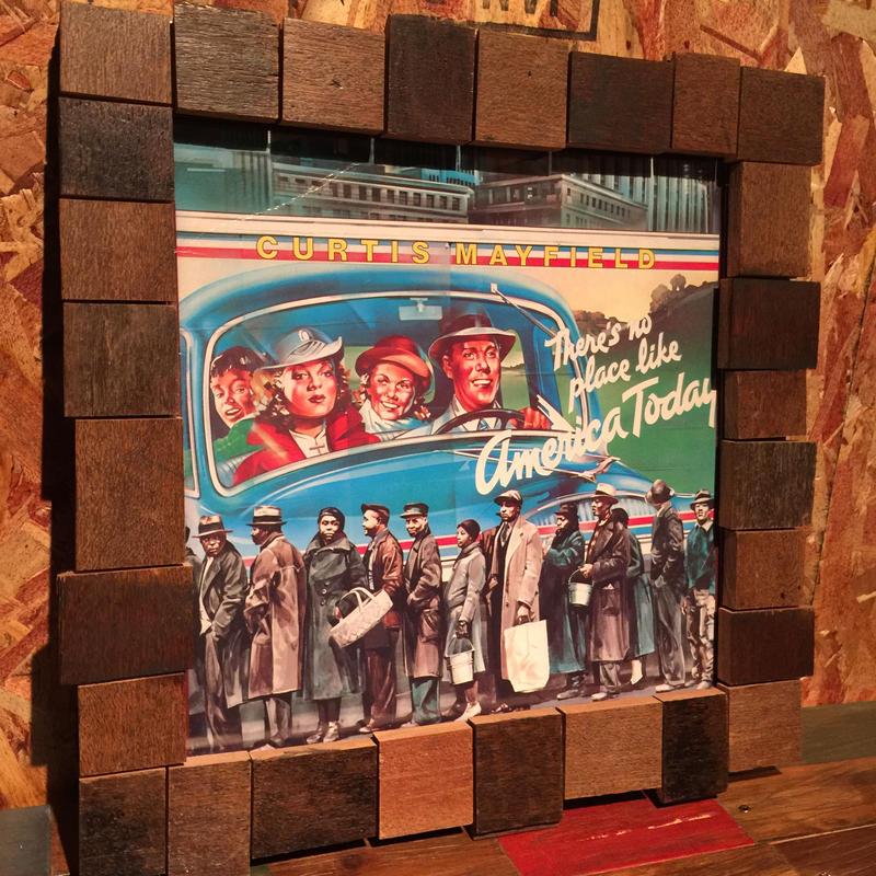 Handmade Vinyl Frame #6
