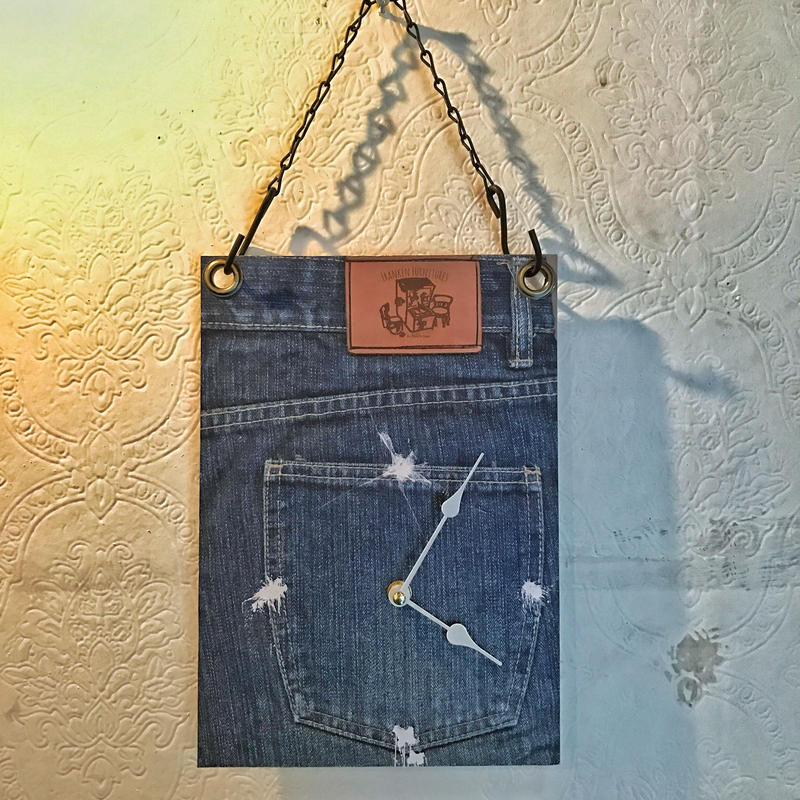 "WALL CLOCK ""Jeans"""