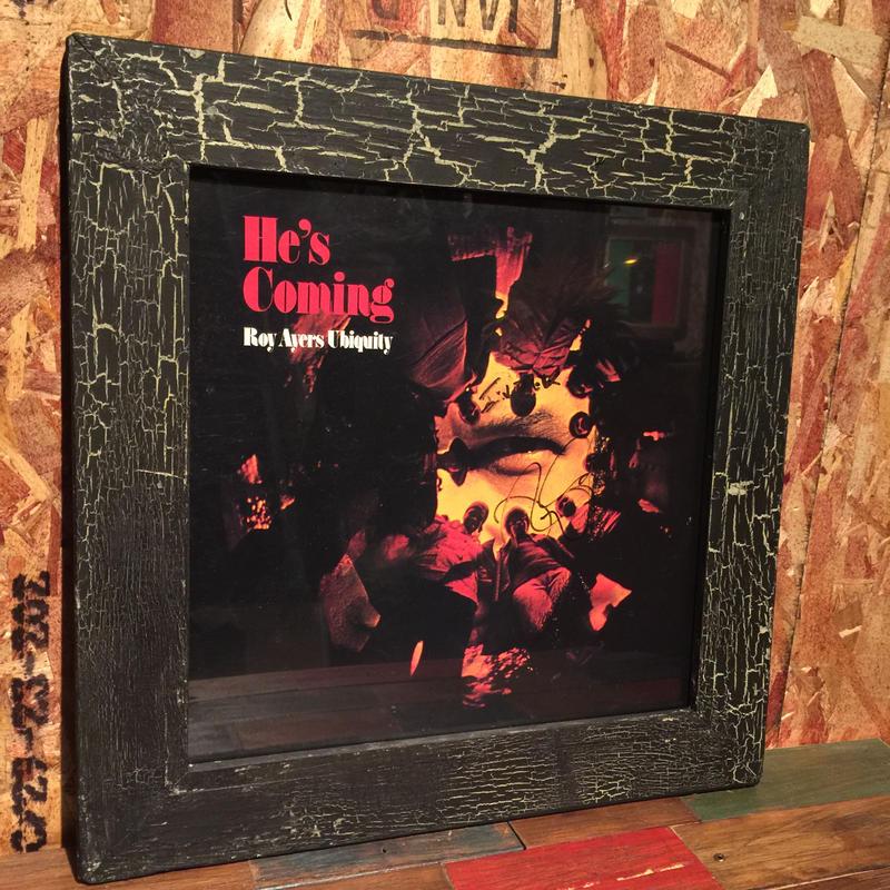Handmade Vinyl Frame #12
