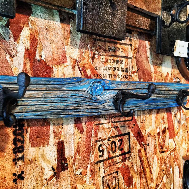 """Wall Hook """"BARN WOOD"""""""