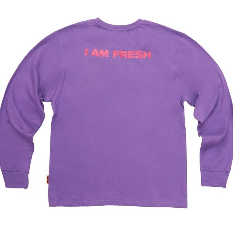 I AM FRESH LONG SLEEVE PURPLE