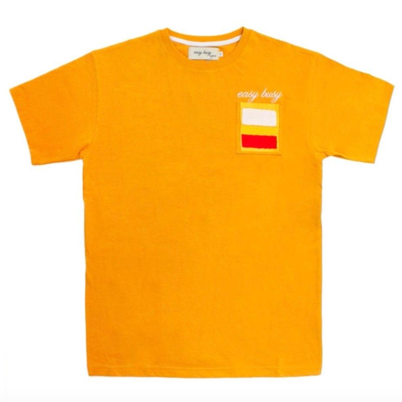 【easy busy】Rothko T-Shirts – Yellow