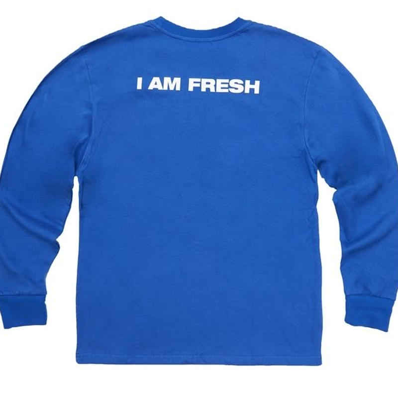 I AM FRESH LONG SLEEVE BLUE