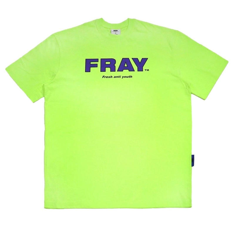 【Fray】FRAY BIG LOGO T-SHIRTS NEON